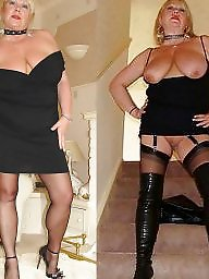 Dressed undressed, Old, Dress, Mature big boobs, Whore, Old mature