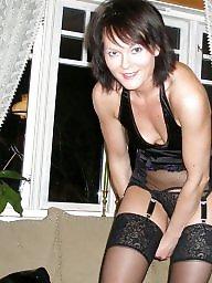 Brunette, Amateur stockings