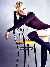 Stockings, High heels, Stockings heels, Teen stockings