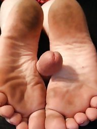 Feet, Asian mature, Mature feet, Mature asian, Dick, Feet cum