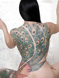 Tattoo, Asian ass