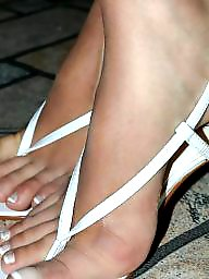 Feet, Mature feet, Latin mature, Brunette mature