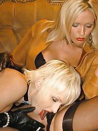 Latex, Smoking, Smoke, Nylon milf, Lesbian milf