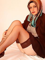 Turban, Upskirt stockings, Turks
