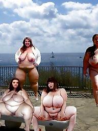 Outdoors, Big boobs, Bbw naked, Naked