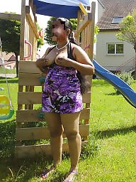 Hot wife, Outdoors