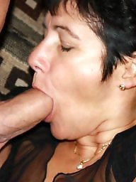 Mature slut, Big mature, Cum covered