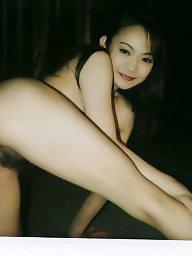 Japanese, Striptease, Hairy pornstar, Hairy asian