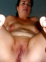 Fat, Spreading, Mature spreading, Mature bbw, Spread, Cunt