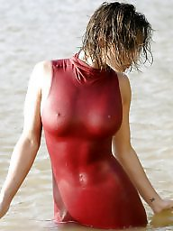 Nipples, Wet, Women, Wetting