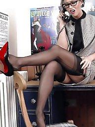 Stocking, Nylon upskirt, Upskirt stockings