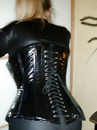 Pvc, Corset, Mature pvc, Toys, Corsets, Mature boobs