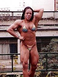 Femdom, Bodybuilder, Female