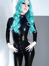 Pvc, Latex, Teen ass, Teen model, Model, Models