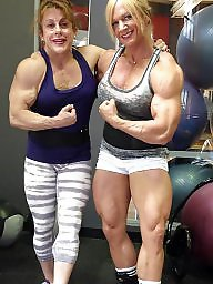 Piercing, Pierced, Female, Bodybuilder