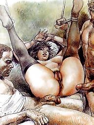 Cartoons, Slave, Slaves