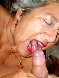 Granny, Granny blowjob, Big granny, Granny big boobs, Granny boobs, Mature blowjob