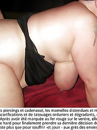 Caption, French, Amateur bdsm, French caption, France