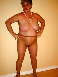 Granny, Mature stockings, Granny stockings, Granny boobs, Grab, Mature boobs