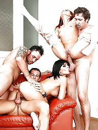 Gangbang, Group, Double, Milf sex, Groups