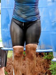 Cameltoe, Wet, Wetting