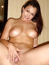 Natural boobs, Natural, Natural tits, Fingering, Finger, Big natural tits