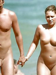 Beach, Naturist, Couples, Couple, Couple amateur, Amateur couple