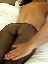 Pantyhose, Bound, Bed