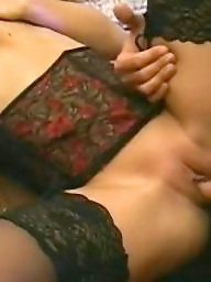 Blonde, Beautiful, Black stocking, Black sex, Stocking sex