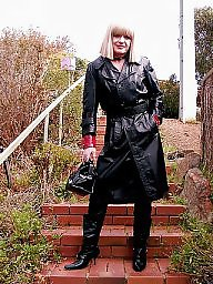 Boots, Pvc, Latex, Leather, Mature boots, Mature leather