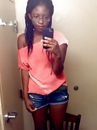 Black, Black teen, Ebony teen, Bathroom, Black teens, Ebony teens