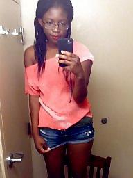 Black, Black teen, Bathroom, Ebony teen, Ebony teens, Black teens