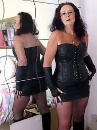 Leather, Mature leather, Milf leather, Mature milfs