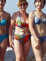 Granny, Grannies, Mature beach, Granny beach, Matures, Beach mature