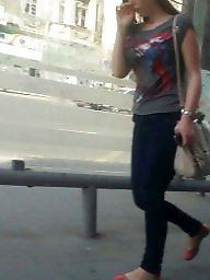 Skirt, Spy, Leggings, Romanian, Leg, Hidden cam