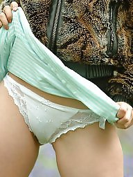 Mature panties, Mature panty, Mature upskirt, White panties, Matures panties, White