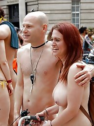 Nudist, Couple, Couples, Hanging, Nudists