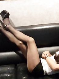Silk, Asian amateur, Asian stocking, Silk stockings, Asian stockings