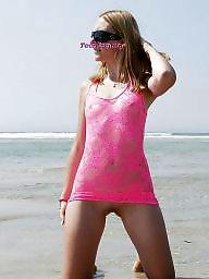 Teen beach, Beach, Public teen