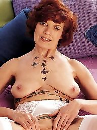 Hard, Tatoo, Mature hot, Hot gilf