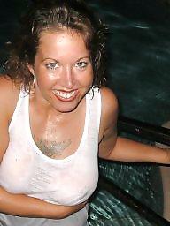 Pool, Amateur boobs, Pools