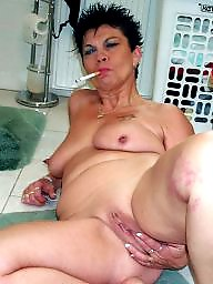 Smoking, Mature smoking, Bitch, Smoke, Smoking mature, Teen amateur