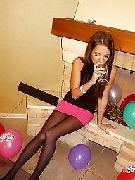 Nylon, Russian, Nylons, Amateur nylon, Teen nylon, Russian amateur