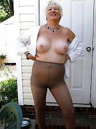 Granny, Grannies, Granny stockings, Granny stocking, Mature whore, Mature stockings