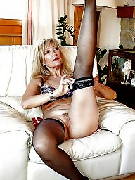 Stockings, Nylons, Mature nylon, Nylon mature, Milf stocking, Mature in stockings