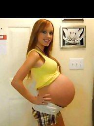 Pregnant, Lady, Pregnant amateur