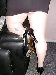 Pantyhose, Heels, Upskirt ass, Tight, Pantyhose upskirt, Tights
