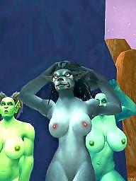 Big tits, Public