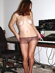 Mature pantyhose, Older, Strip, Mature strip, Stripping, Pantyhose mature