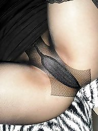 Pussy, Stockings pussy, Pussy flashing